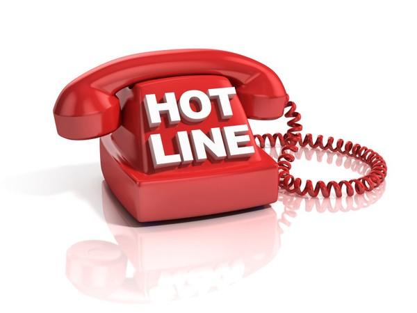 Hotline liên hệ - Đường dây nóng