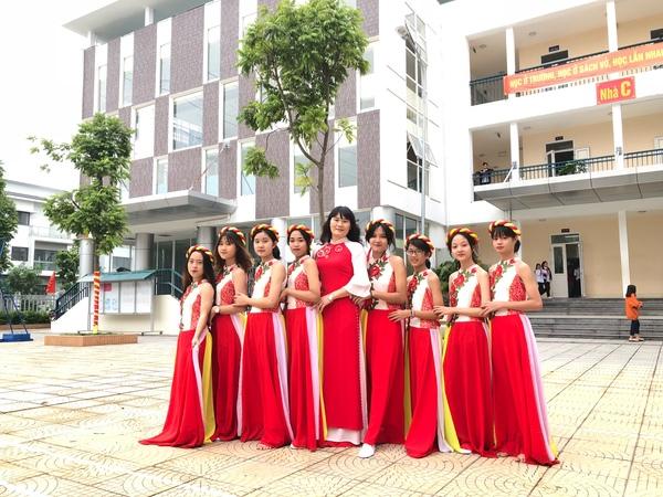 Trường THCS Xuân Phương chào mừng ngày Nhà giáo Việt Nam 20/11/2019